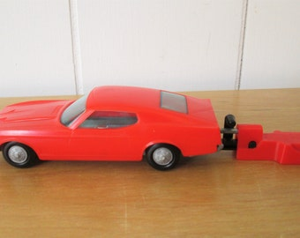 vintage Go Car toy muscle car Proctor and Gamble Japan