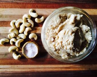 Maple Cashew Butter - Organic and Raw - Cinnamon, Raw Honey - Vegan
