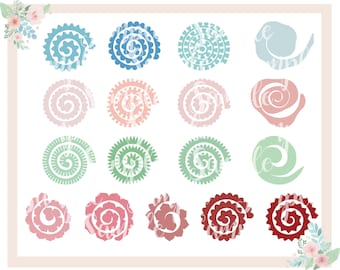 Silhouette Paper Flower Template Karlapa Ponderresearch Co