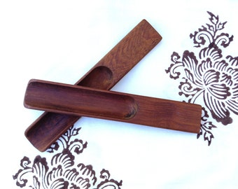 Vintage Teak Wooden Salad Tongs Designed for Dansk, Denmark, by Jens Quistgaard, Mid-Century Danish Modern
