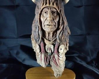 Neil j Rose Storyteller #2224/2500 Sculpture
