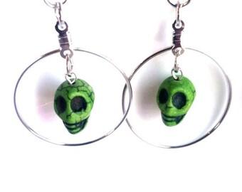 Sugar Skull Earrings Skull Jewelry Trending Now Popular Items Teen Girl Gifts Women SALE Jewelry R18