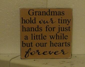 Grandma's plaque