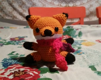 Amigurumi Crochet Fox