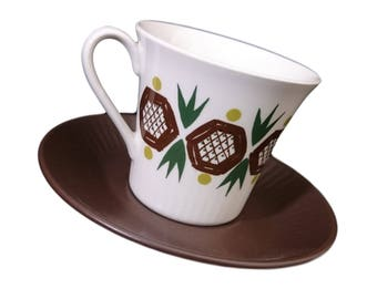 Rolf by Figgjo Flint Coffee Cup & Saucer Duo