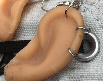 Baby Doll Ear Earrings