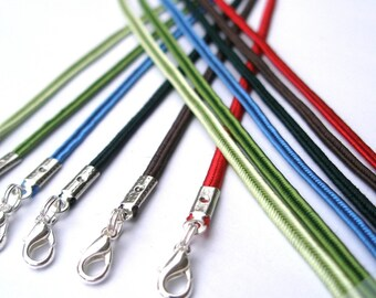10 - Malina Necklace Cords - Any Length, 7 Colors - Handamde in USA - strong/secure