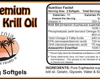 Pure Krill Oil Softgels