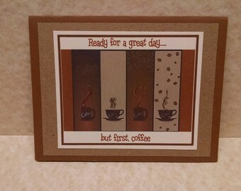 But First Coffee Note Cards