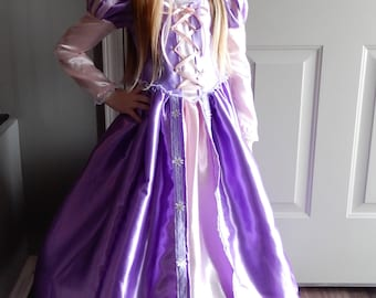 Tangled Dress/Rapunzel Costume Princess Dress/Tangled Costume