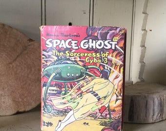 Vintage Comic Book Space Ghost 1968 Hanna Barbera Big Little book