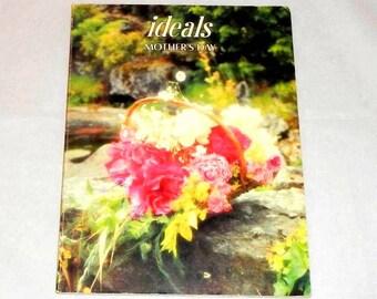 Ideals Mother's Day Inspiration Magazine Workbook Idea Book Vintage 1981