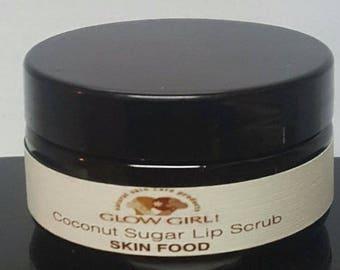 Coconut Sugar Lip Scrub and Coconut Lemongrass Lip Balm