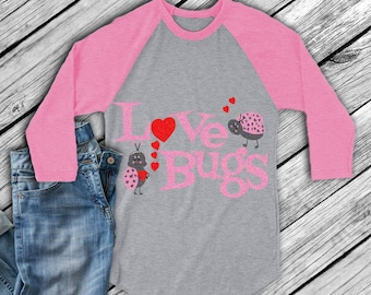 Valentine Love Bugs Svg, valentine svg, Cuttable Svg, Eps, Dxf, Png Valentine's Day, Cut files  for Cricut DS, Silhouette,Instant download