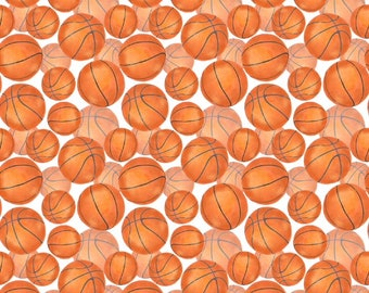 "12"" x 12"" Oracal Patterned Vinyl -Basketball by Sparkle Berry"