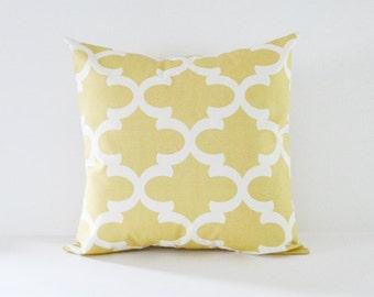 Saffron Pillow Cover Decorative Pillows Throw Pillows Yellow Pillow All Sizes