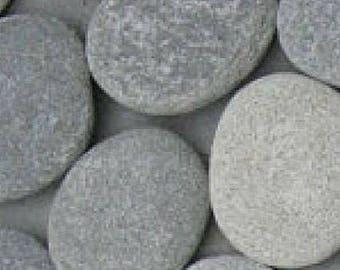 3 inch stones for painting, 10 rocks for painting, flat rocks, flat stones, river rocks, wishing stones, stacking stones, zen garden stones