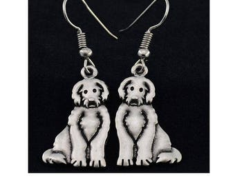 Labradoodle Charm Earrings