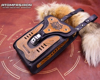 The Witcher 2.0 leather hip bag