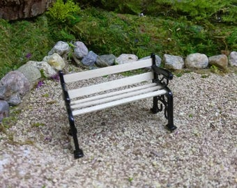 Garden Bench Miniature for Fairy Garden Outdoor Furniture Supplies