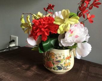 Teapot Flower Arrangement