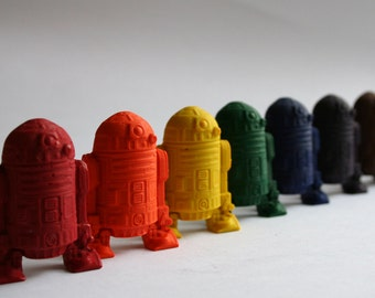 Star Wars R2-D2 Mini Crayons - Set of 8