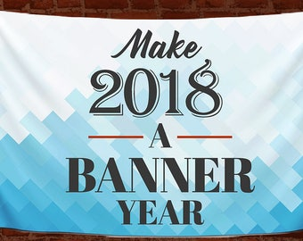Vinyl booth banner - 2'X4' full color - commercially printed