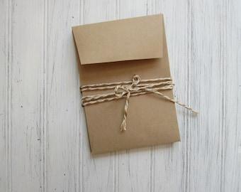 Kraft Envelopes, A1 Open End Envelopes, 4 Bar Brown Bag Envelopes, Save the Date Envelopes, Kraft Envelopes