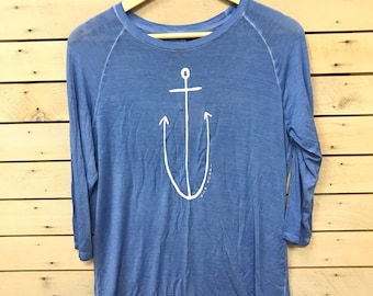Anchor 3/4 Sleeve