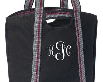 Handy Carryall Canvas Tote ( Black)