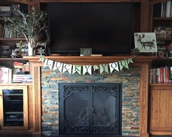 St. Patrick's Day banner, St. Patty's day banner, St. Patrick's Day home decor, banner, holiday banner.