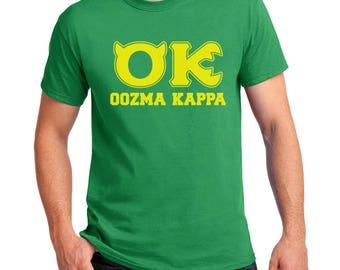 Oozma Kappa T-shirt Monsters University Halloween costume cosplay Shirts Women Mens Kids sizes
