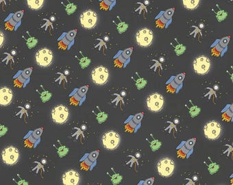 Space Themed Wrapping Paper