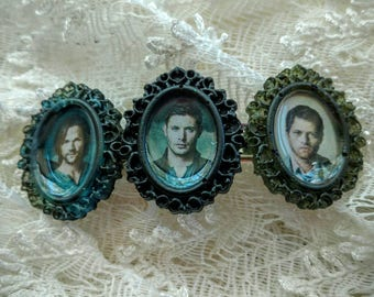 Supernatural Hair Clip - Sam and Dean Winchester - Castiel
