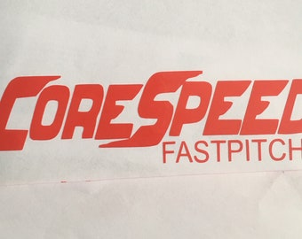 Corespeed sticker decal