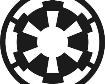Galactic Empire Star Wars Decal Sticker