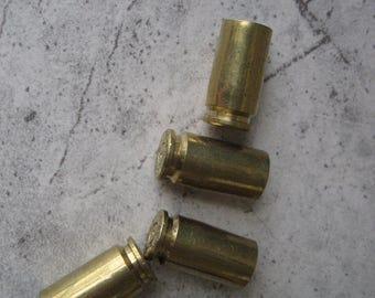 40 Caliber Brass Shell Casing Valve Stem Cover (Set of 4)    Free Shipping