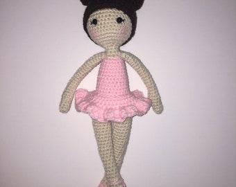 Ballerina Doll Photo Prop Amigurumi