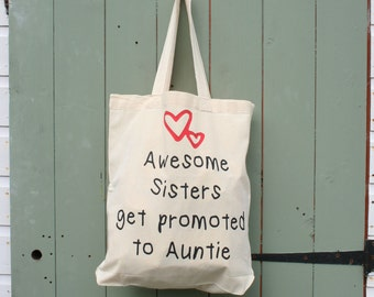 Sister to Auntie Shopping Bag