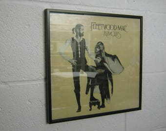 Fleetwood Mac Special Unique Wall Framed Record Sleeve/Cover Gift/Present