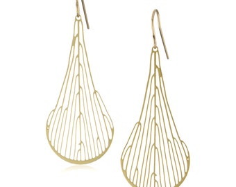 Dichotomous Earrings (gold)