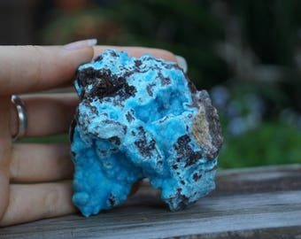 Blue Hemimorphite || 140gm || 60mm x 60mm x 45mm ||