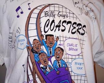Billy Guy's COASTERS VINTAGE Concert T-shirt XL
