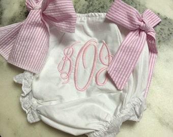Diaper Cover, Baby Girl Panties, Baby Bloomers, Ruffled Panties