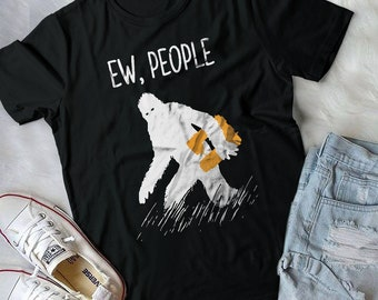 Ew, People Funny Sewing Quilting T-shirt