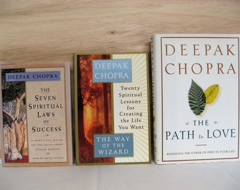 YOUR CHOICE of Non-Fiction Books about Spirituality by Deepak Chopra