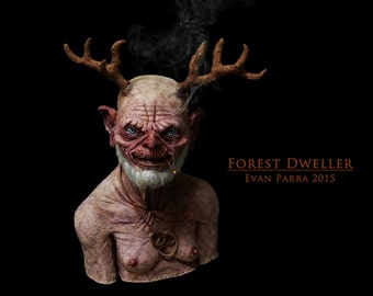 FOREST DWELLER - Professional Latex Display Prop