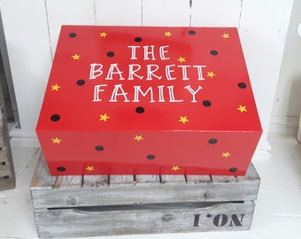 Holiday Reveal Box,Memory Box