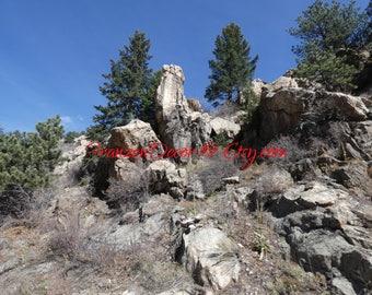 Phallic rock formation