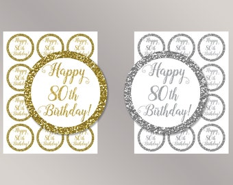 80th birthday party Etsy